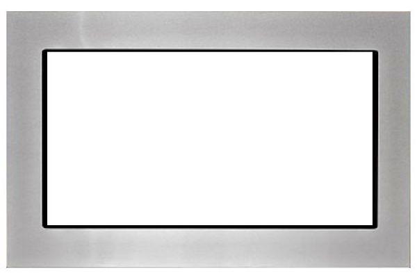 "Large image of KitchenAid 27"" Stainless Steel Microwave Trim Kit - MKC2157AS"