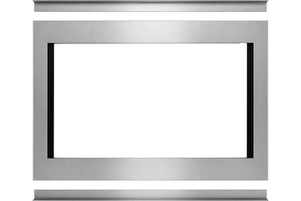 "Large image of JennAir 30"" Stainless Steel Flush Convection Microwave Trim Kit - MKC4150ES"