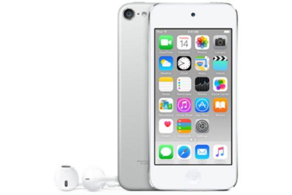 Apple 32GB Silver 6th Gen iPod Touch - MKHX2LL/A
