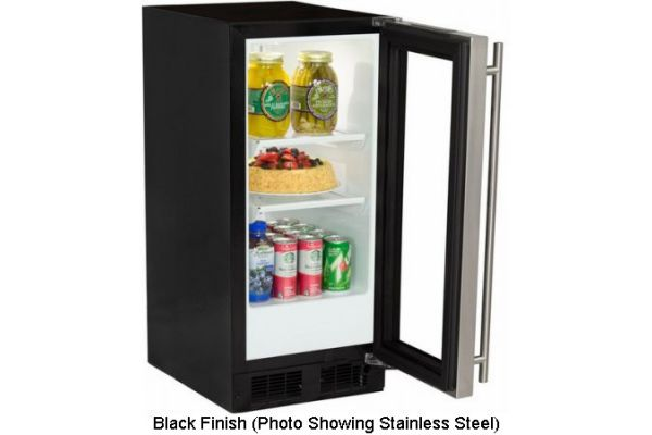 "Marvel 15"" Black Compact All Refrigerator - ML15RAS1RB"