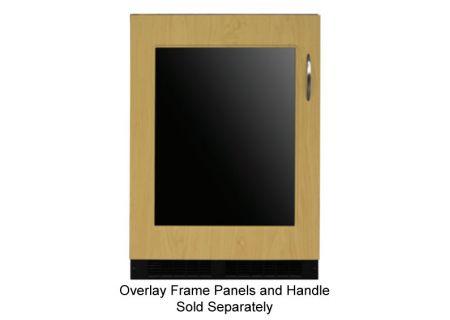 """Marvel 24"""" Panel Overlay Frame Ready Glass Door  Beverage Center  - ML24BCF2LP"""