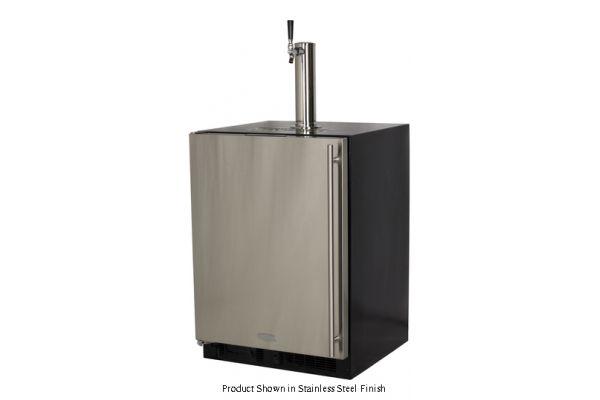 """Marvel 24"""" Built-In Panel Ready Single Tap Beer Dispenser - ML24BSP3LP"""