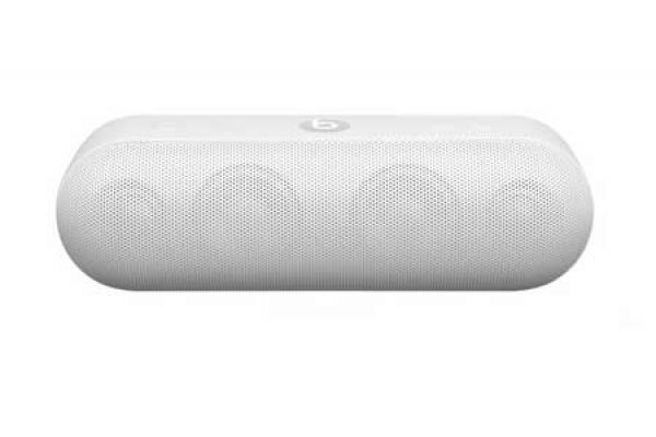 Large image of Beats By Dr. Dre Beats Pill+ White - ML4P2LL/A