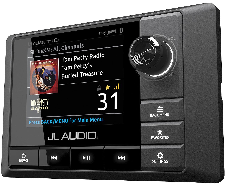 Jl Audio Mediamaster Marine Audio Receiver Mm100s
