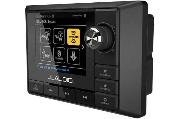 Large image of JL Audio Black Weatherproof Source Unit - 99920
