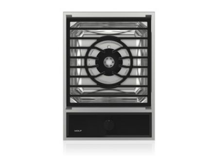 """Wolf 15"""" Stainless Steel Transitional Multifunction Module Cooktop  - MM15TF/S"""