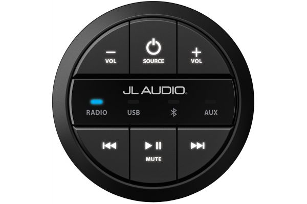 Large image of JL Audio Black Wired Remote Controller - 99921