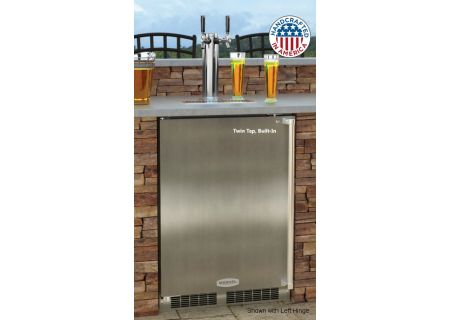 "Marvel 24"" Stainless Steel Built-In Outdoor Beer Dispenser  - MO24BTS2RS"