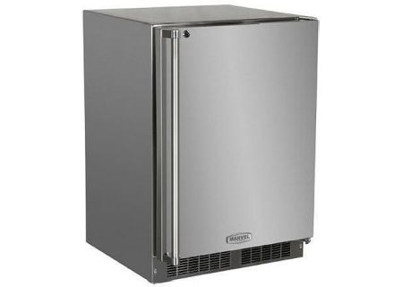 "Marvel 24"" Stainless Steel Outdoor Refrigerator - MO24RAS1RS"