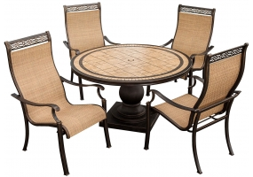 Hanover - MONACO5PC - Patio Furniture