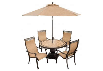Hanover - MONACO5PC-SU - Patio Dining Sets