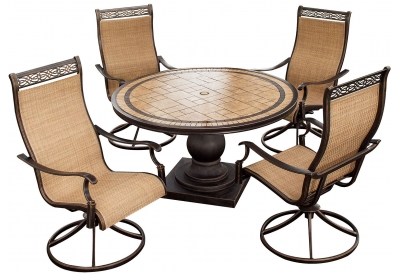 Hanover - MONACO5PCSW - Patio Dining Sets