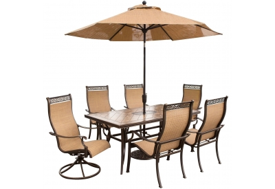 Hanover - MONACO7PCSW-SU - Patio Furniture