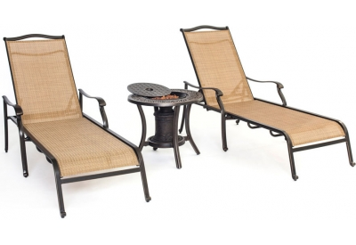 Hanover - MONCHS3PC-URN - Patio Seating Sets