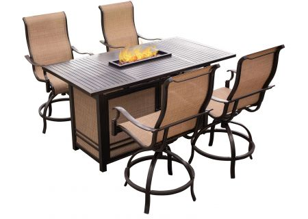 Hanover - MONDN5PCFP-BR - Patio Dining Sets