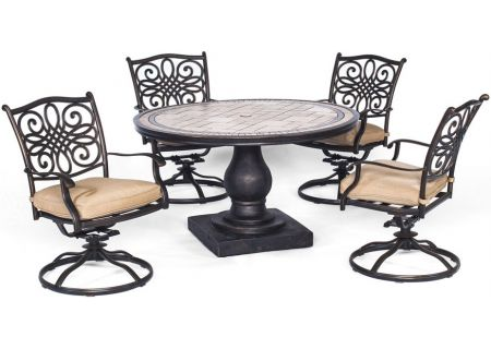 Hanover - MONDN5PCSW-4 - Patio Dining Sets