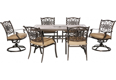 Hanover - MONDN7PCSW-2 - Patio Dining Sets