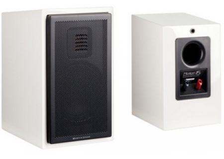 MartinLogan Motion 15 Glossy White Bookshelf Speakers