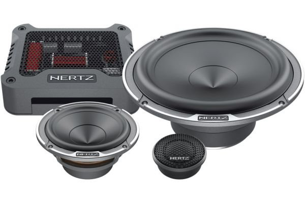 "Large image of Hertz Mille MPK 163.3 PRO 6.5"" 3-Way Speakers (Pair) - MPK163.3"