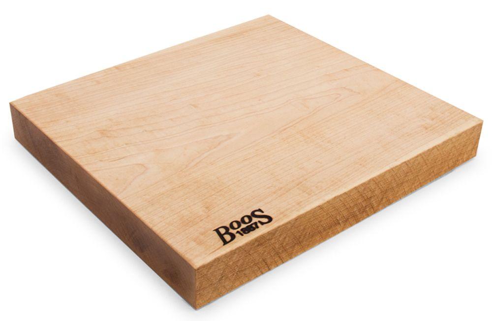 John Boos Co Rustic Edge Cutting Board Mpl Rst1312175