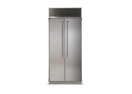 Marvel - MPRO36SS-SS - Built-In Side-by-Side Refrigerators