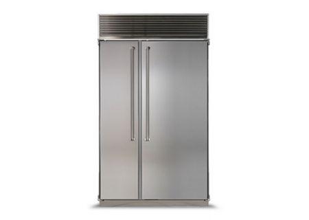 Marvel - MPRO48SS-SS - Built-In Side-by-Side Refrigerators