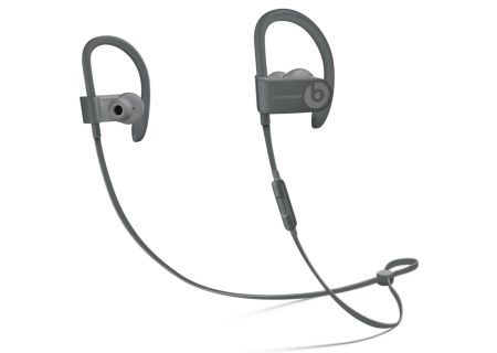 Beats By Dr. Dre Powerbeats3 Neighborhood Collection Asphalt Gray In-Ear Wireless Headphones - MPXM2LL/A