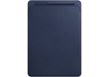 Apple iPad Pro 12.9-Inch Midnight Blue Leather Sleeve - MQ0T2ZM/A