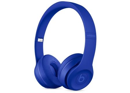Beats By Dr. Dre Solo3 Neighborhood Collection Break Blue Wireless On-Ear Headphones - MQ392LL/A