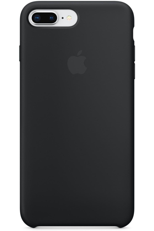 huge discount 75d2c c2c0f Apple iPhone 7 Plus / 8 Plus Black Silicone Case