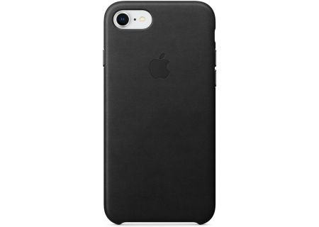 Apple iPhone 7 / 8 Black Leather Case - MQH92ZM/A