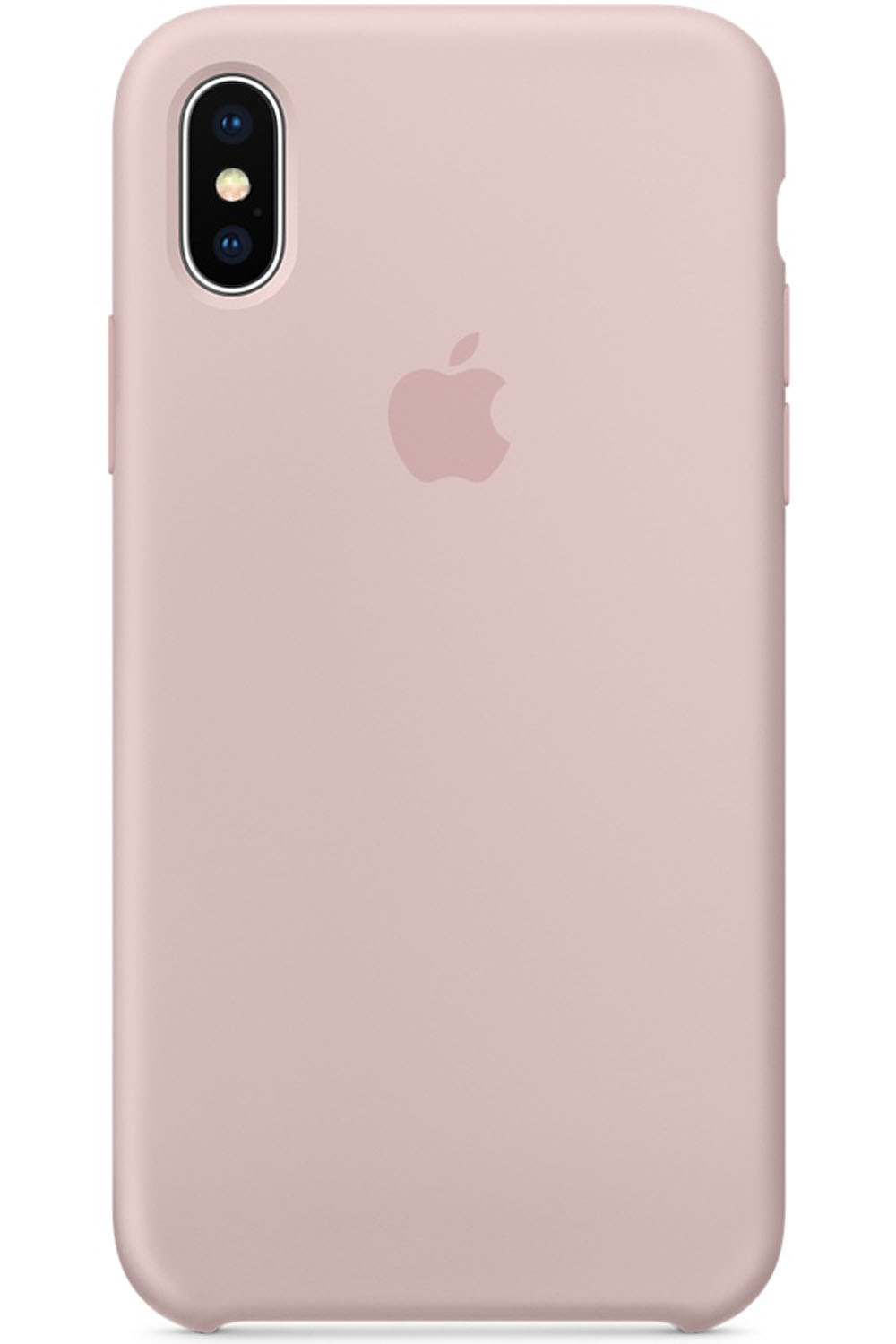 Apple iPhone X Pink Sand Silicone Case