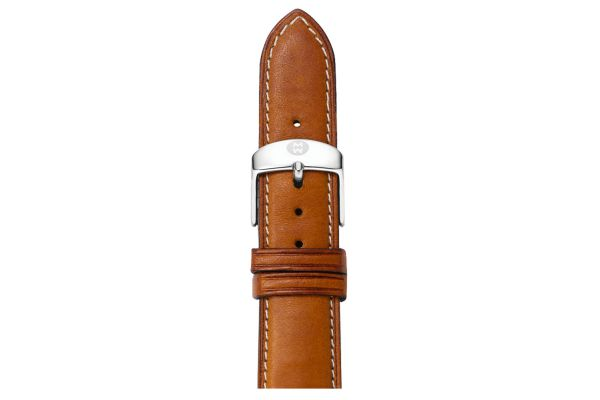 Michele 16mm Saddle Calf Skin Watch Band - MS16AA270216
