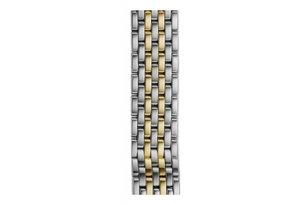 Michele 16mm Serein 16 7-Link Two-Tone Bracelet - MS16DH285048