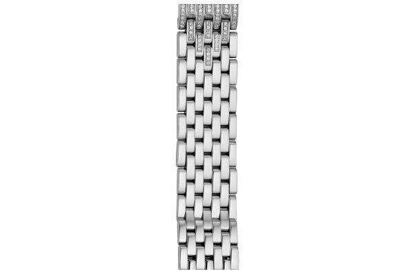 Michele 16mm Deco 16 7-Link Taper Steel With Diamonds Bracelet - MS16FG235009