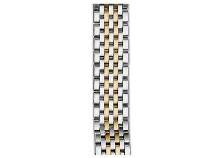 Michele 16mm Deco II 7-Link Mid-Size Two-Tone Bracelet  - MS16FT285048