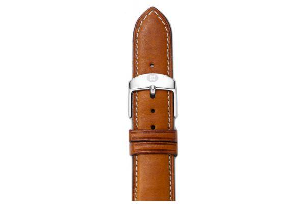 Michele 18mm Saddle Calf Skin Watch Band - MS18AA270216
