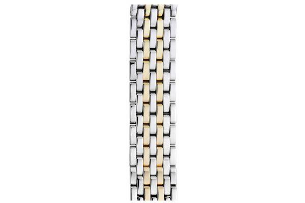 Large image of Michele 18mm Deco 7-Link Two-Tone Bracelet - MS18AU285048