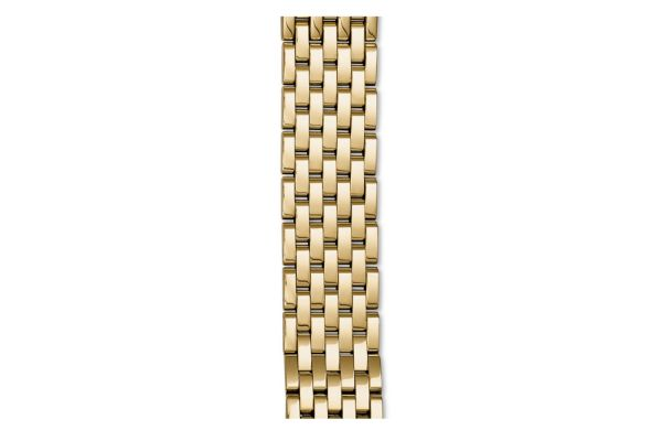 Michele 18mm Sidney Gold-Plated 7-Link Bracelet - MS18GA246710