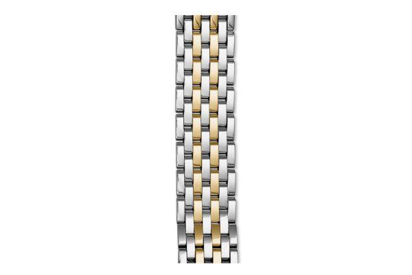 Michele 18mm Sidney Two-Tone 7-Link Bracelet - MS18GA285048