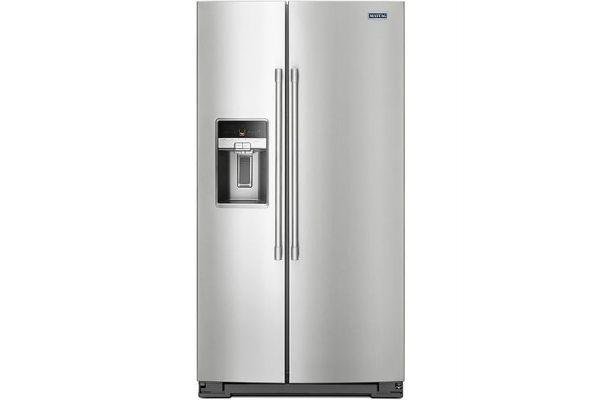 Maytag Stainless Steel Side-By-Side Refrigerator - MSC21C6MFZ