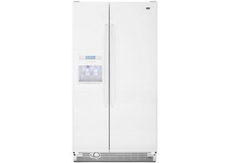Maytag - MSD2553WEW - Side-by-Side Refrigerators