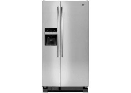 Maytag - MSF22D4XAM - Side-by-Side Refrigerators