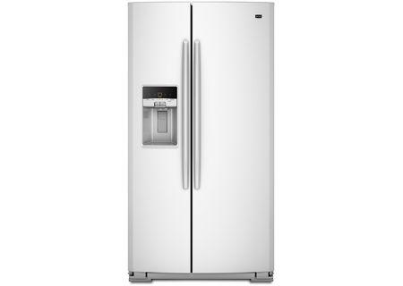 Maytag - MSF22D4XAW - Side-by-Side Refrigerators