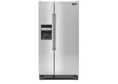 Maytag - MSF25D4MDM - Side-by-Side Refrigerators