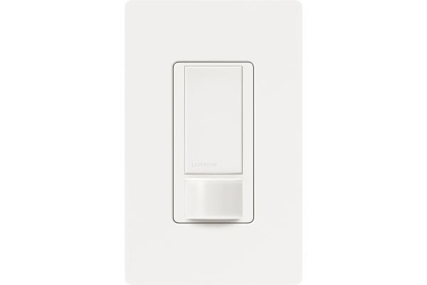 Lutron Maestro White 5A Switch PIR Occupancy Sensor - MS-OPS5M-WH