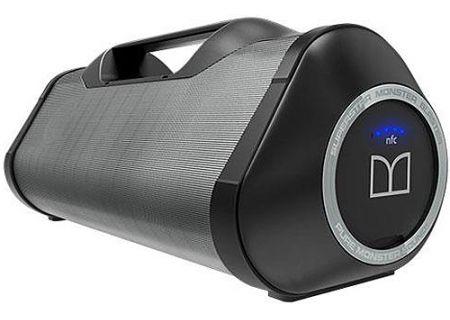 Monster - MSPSPSTRMSTBBTBKGYWW - Bluetooth & Portable Speakers