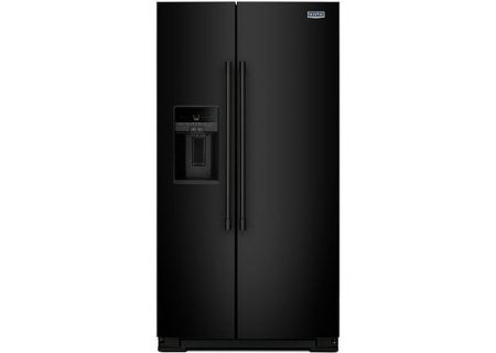 Maytag Black Side-By-Side Refrigerator - MSS26C6MFB