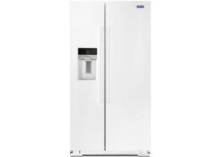 Maytag - MSS26C6MFW - Side-by-Side Refrigerators