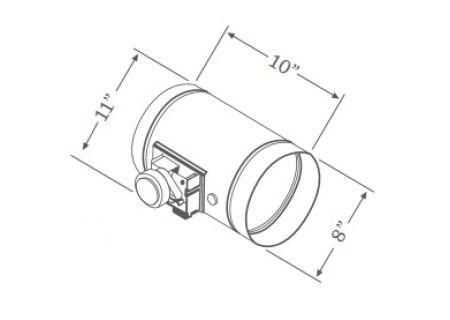 Zephyr - MUA008A - Range Hood Accessories